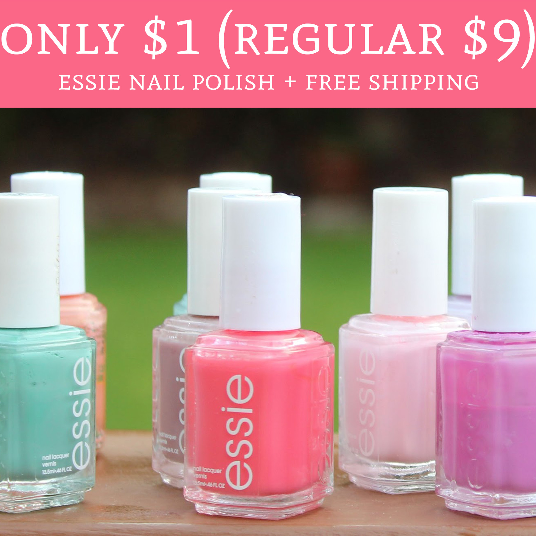 HOT! Only $1 (Regular $9) Essie Nail Polish + Free Shipping - Deal ...