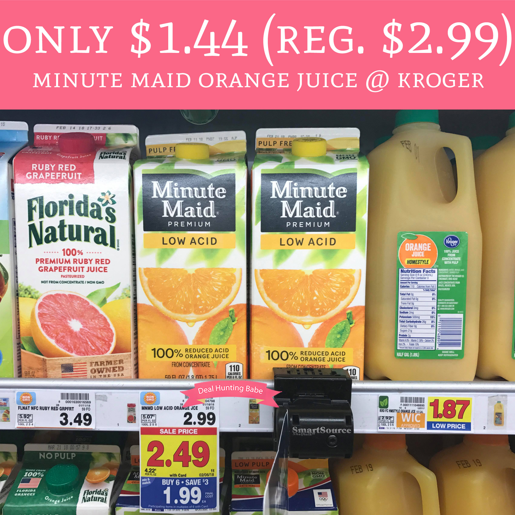 Coupon for minute maid orange juice printable