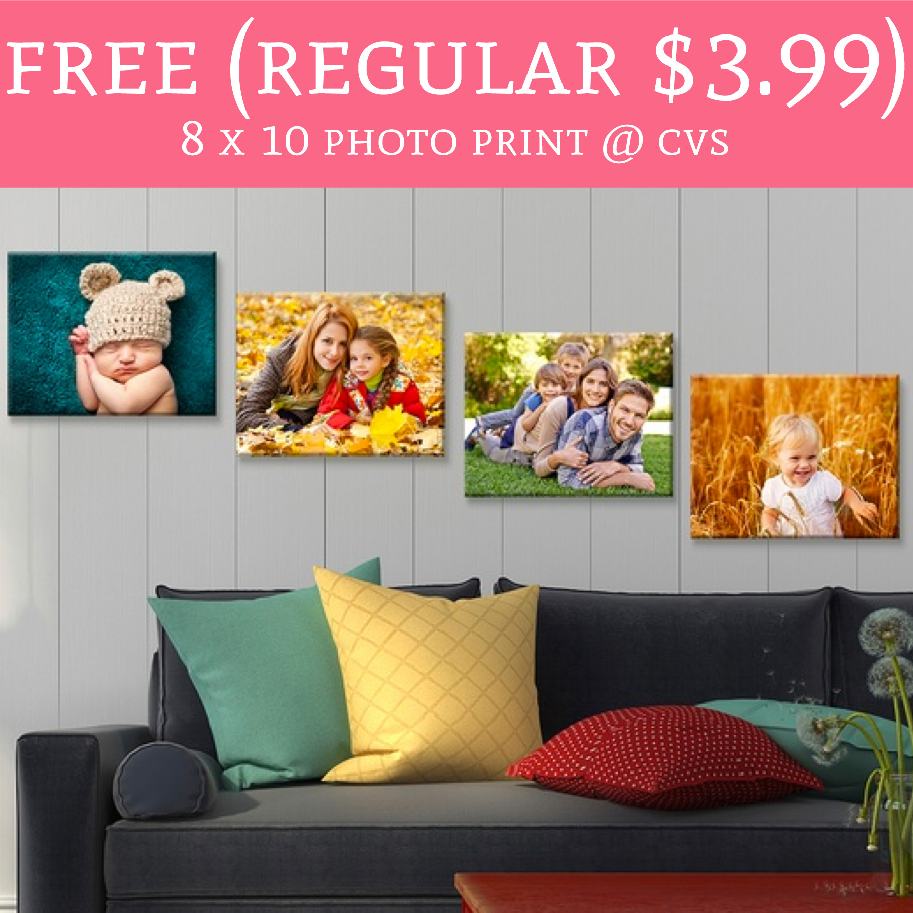 free  regular  3 99  8 x 10 photo print   cvs