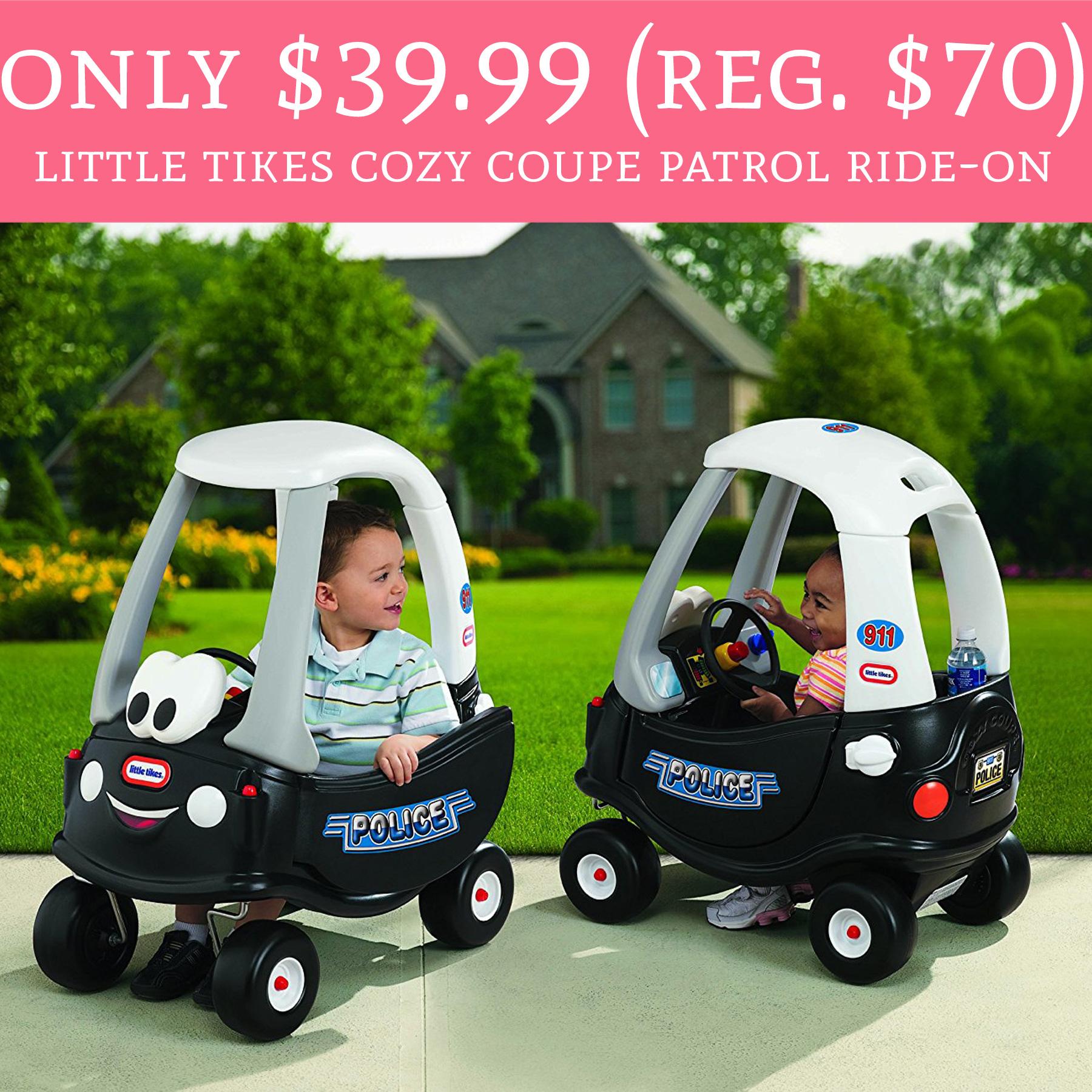 Little tikes cozy coupe deals