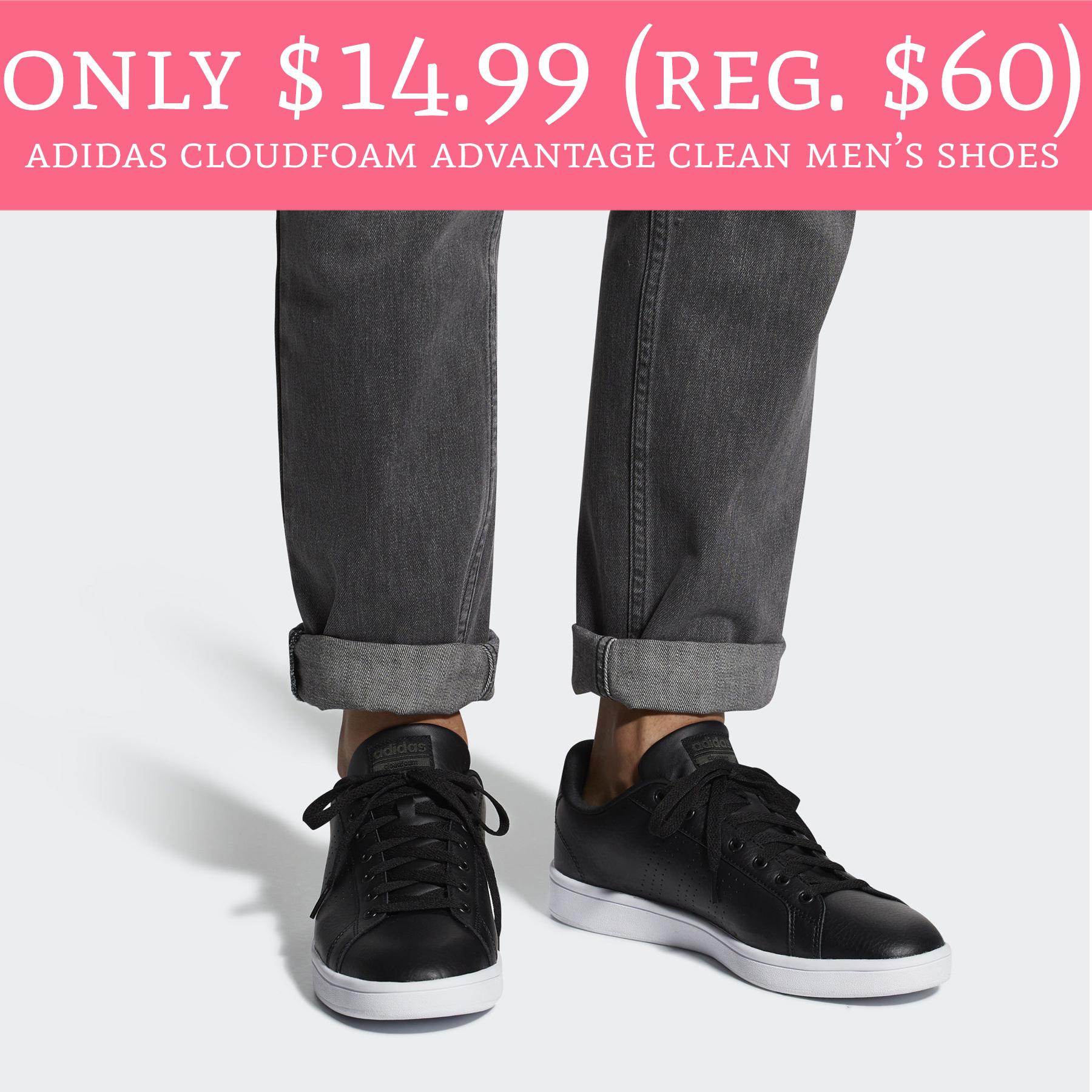 HOT! Only $14.99 (Regular $60) Adidas Cloudfoam Advantage Clean ...