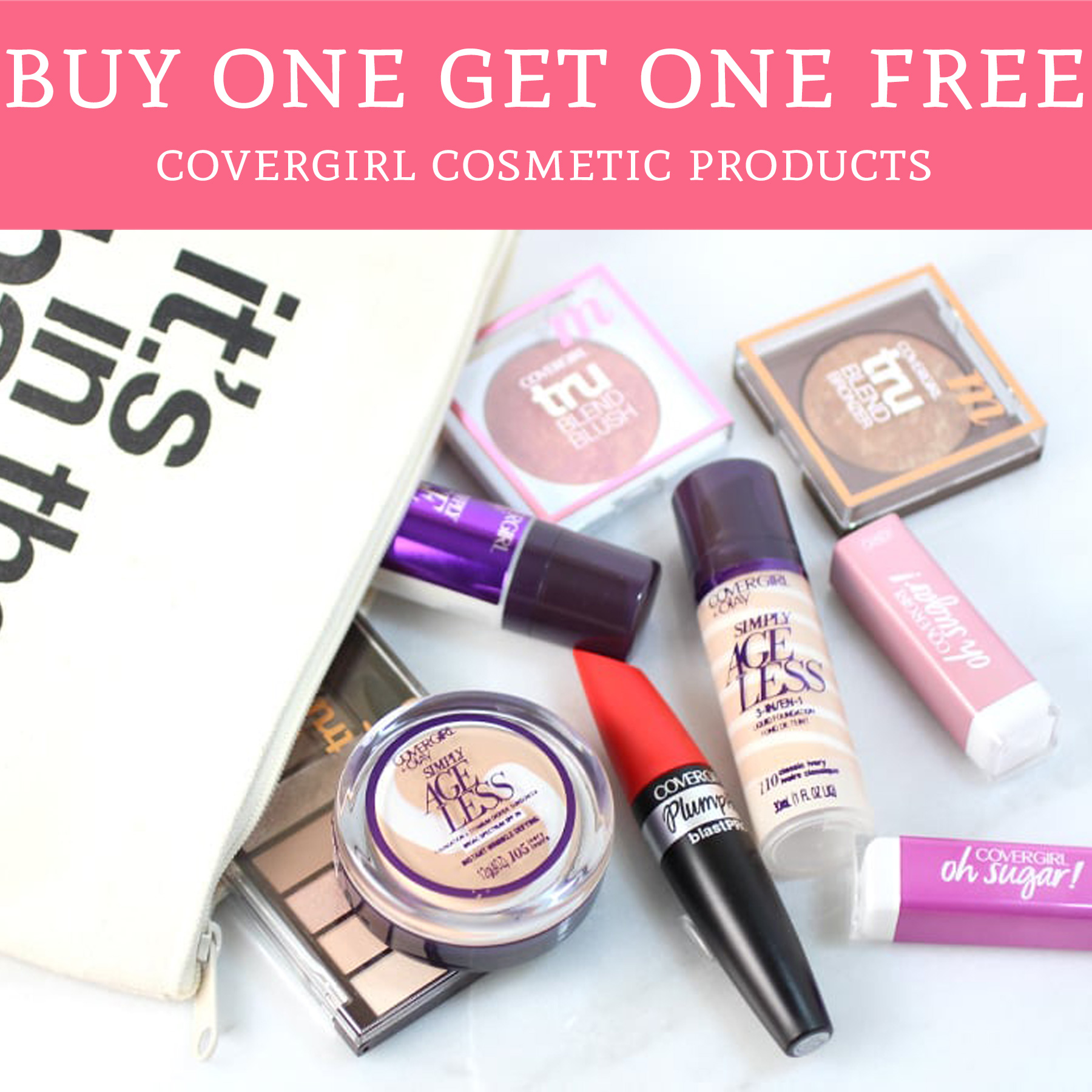 Free Covergirl Cosmetic Products