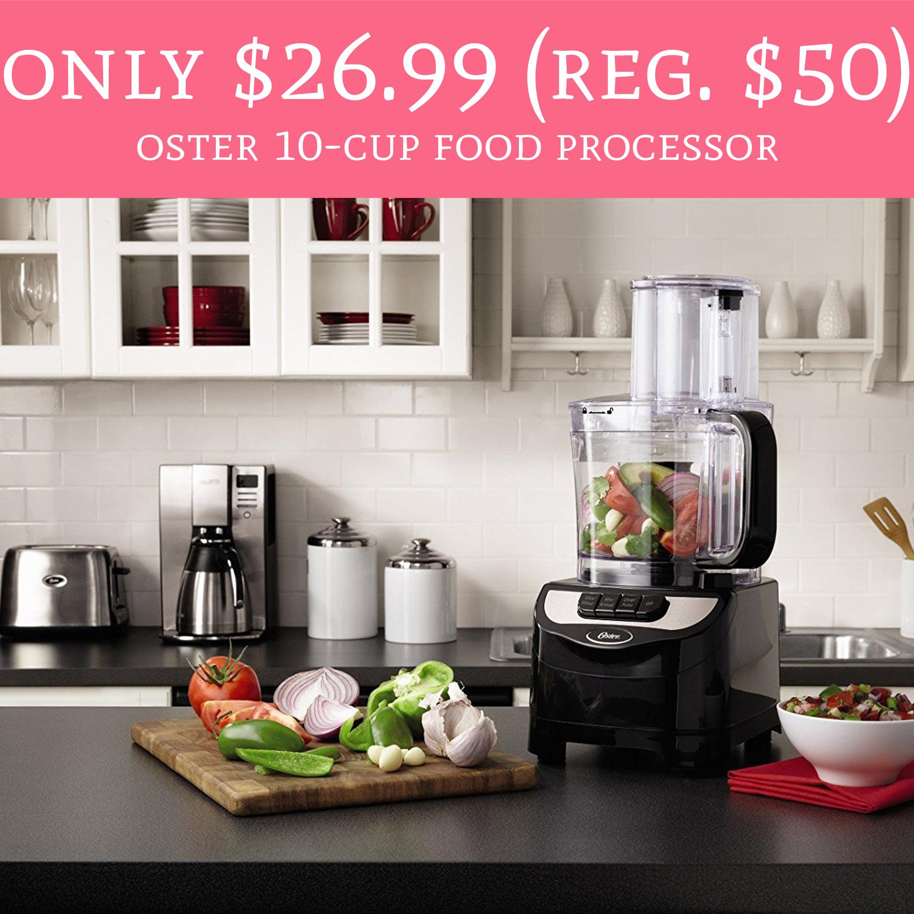 Deals on food processors