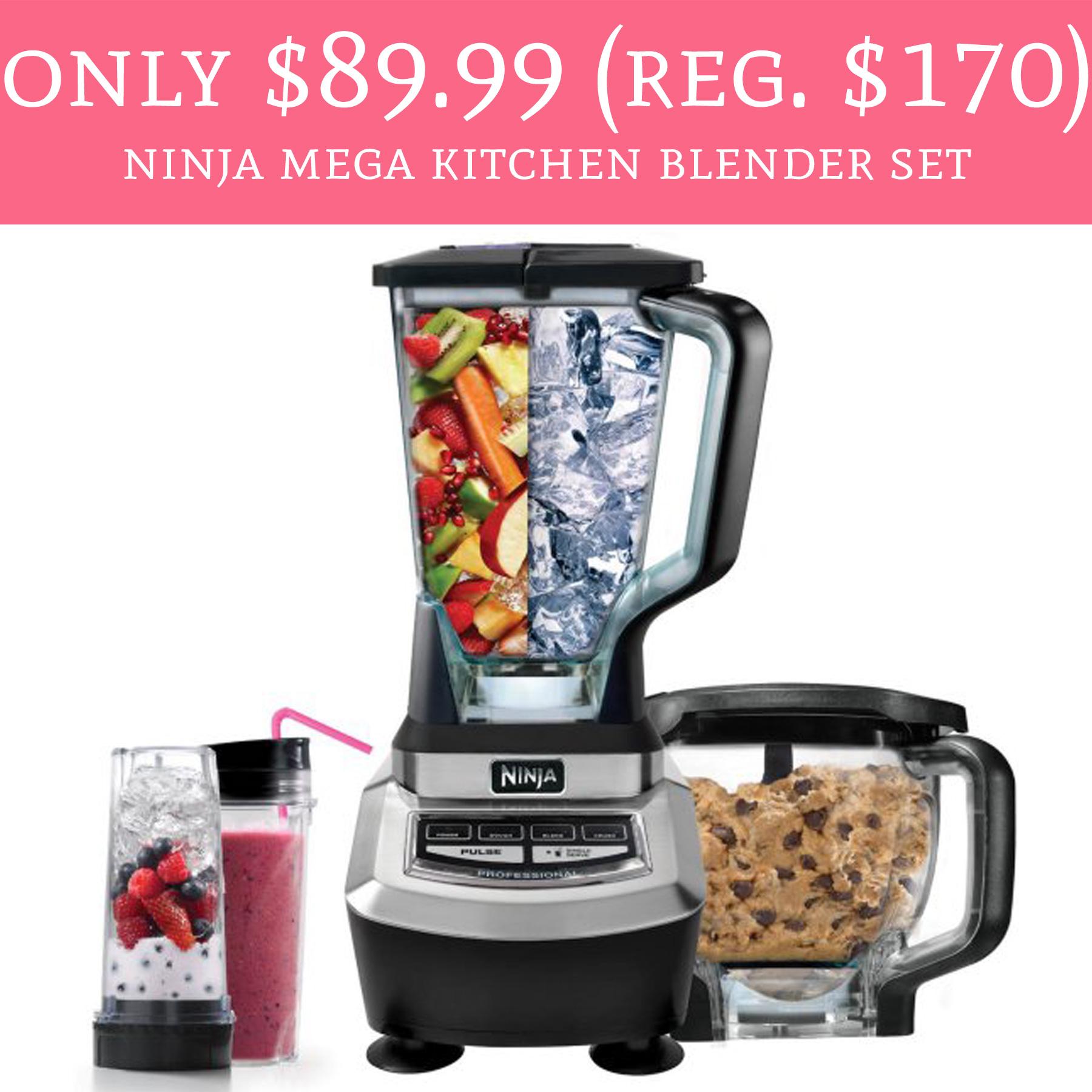Today 4 4 only regular 170 ninja mega kitchen for Kitchen set deals