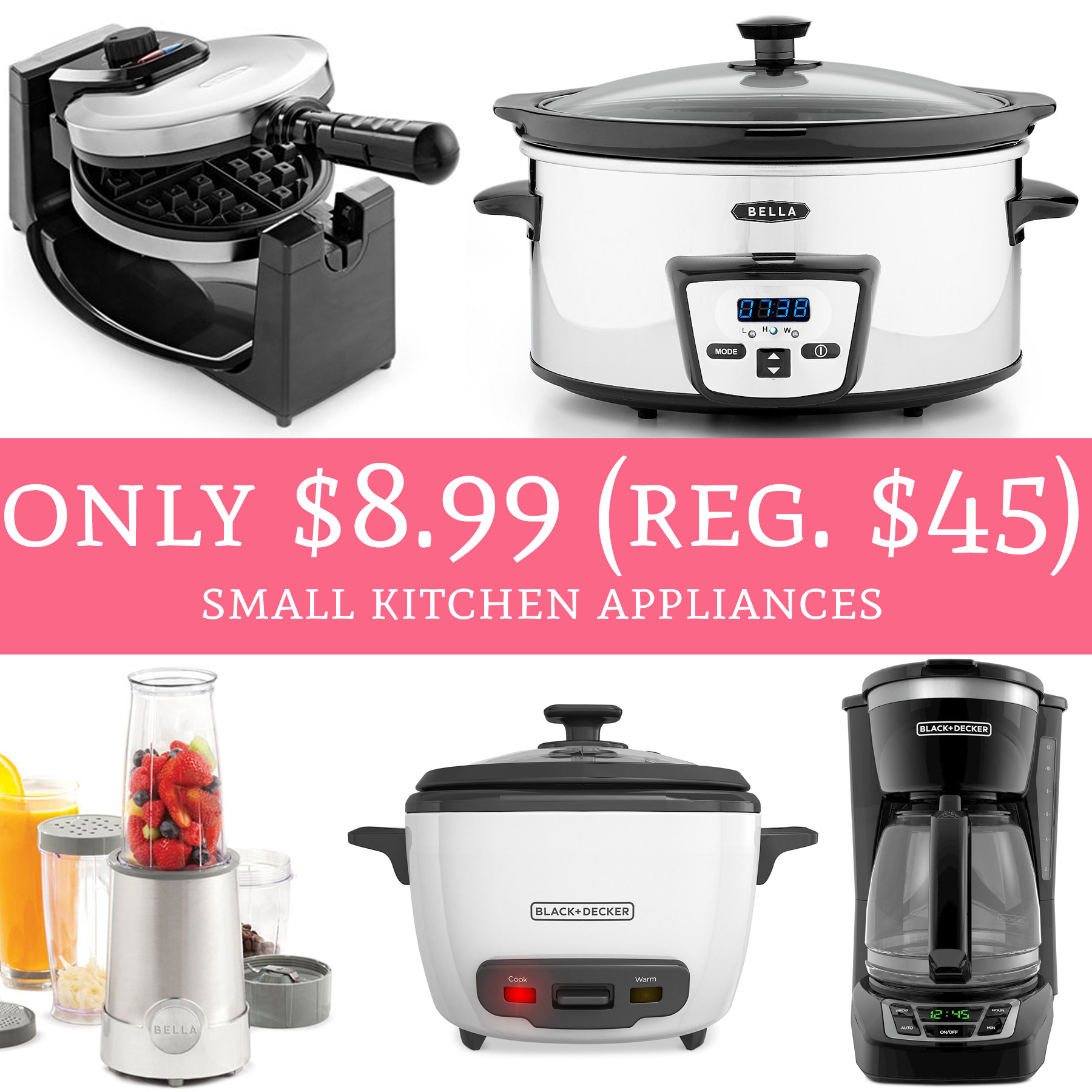 Compact Kitchen Appliances: Deal Hunting Babe