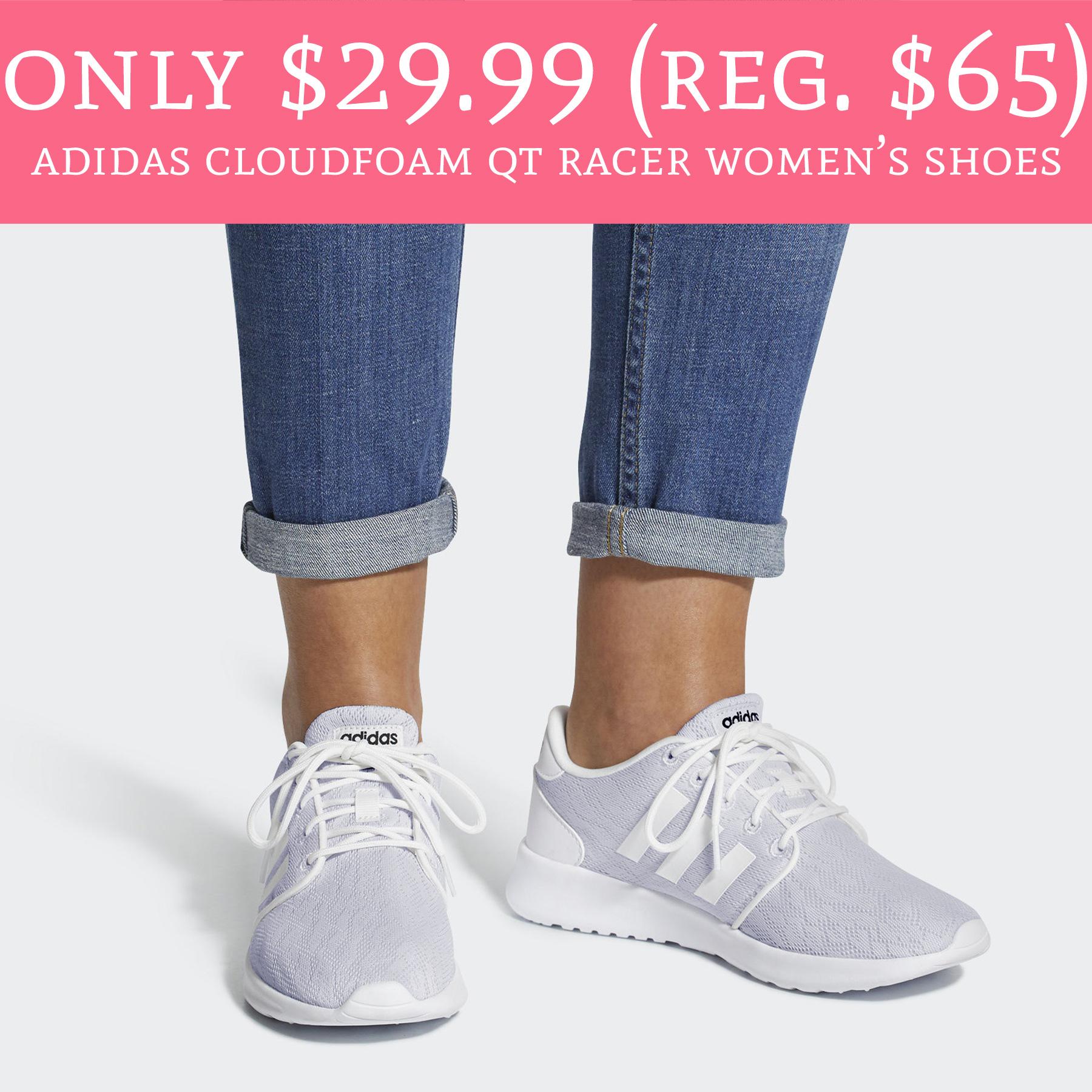 Only $29.99 (Regular $65) Adidas Cloudfoam QT Racer Women's Shoes ...
