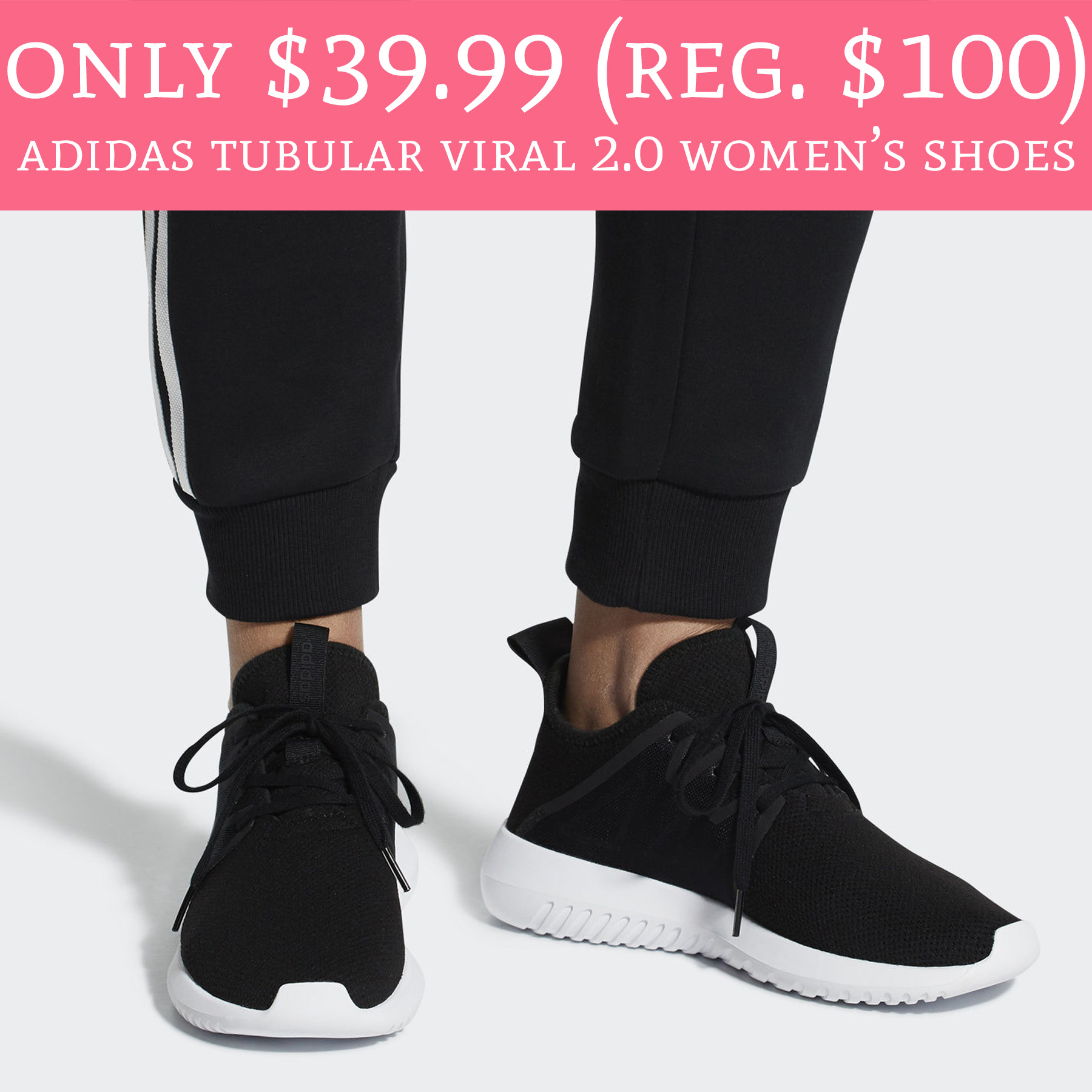 c08a27ae645af3 Great walking or running shoes! Head to ebay.com where the Official Adidas  eBay store is offering Adidas Tubular Viral 2.0 Women s ...