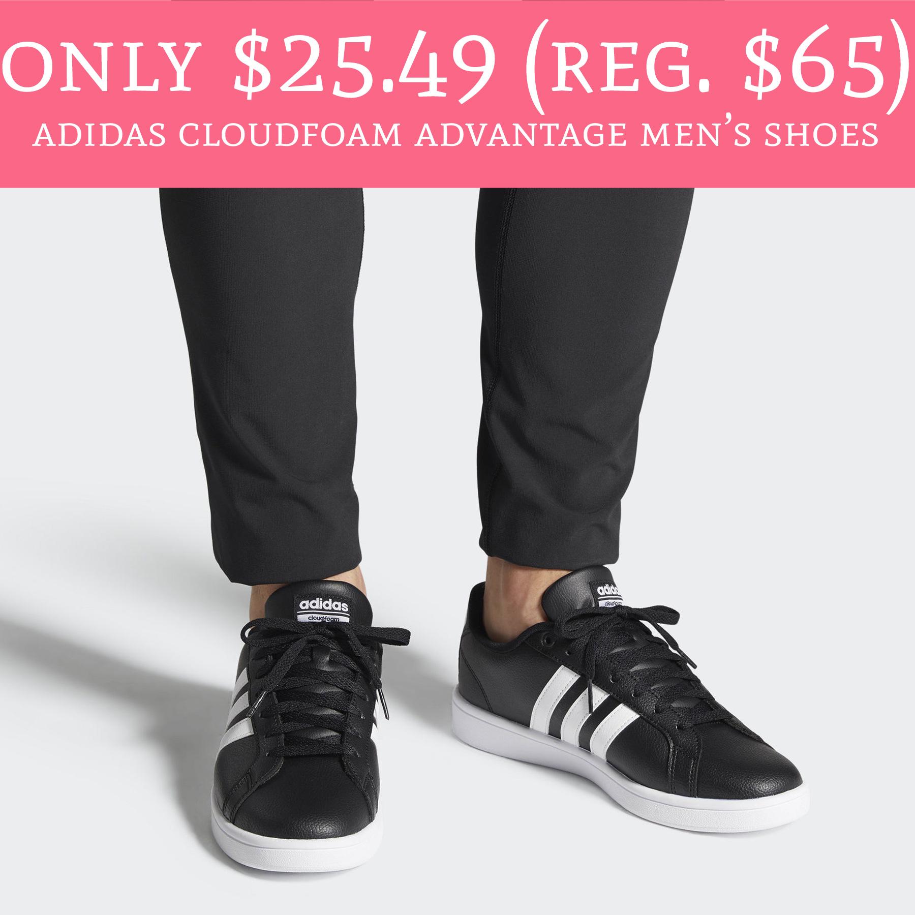 Only $25.49 (Regular $65) Adidas Cloudfoam Advantage Men's Shoes ...