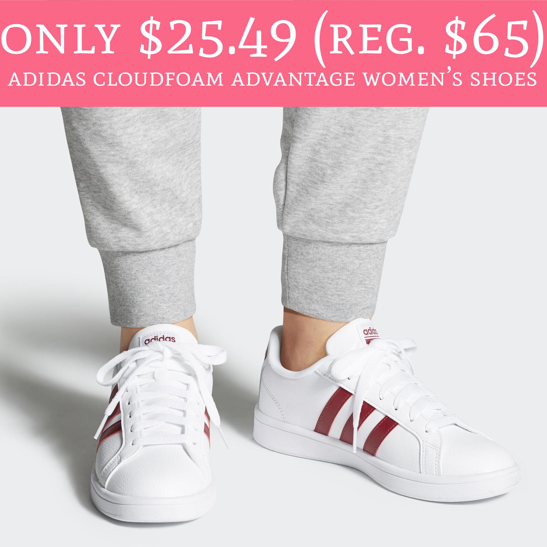 Only $25.49 (Regular $65) Adidas Cloudfoam Advantage Women's