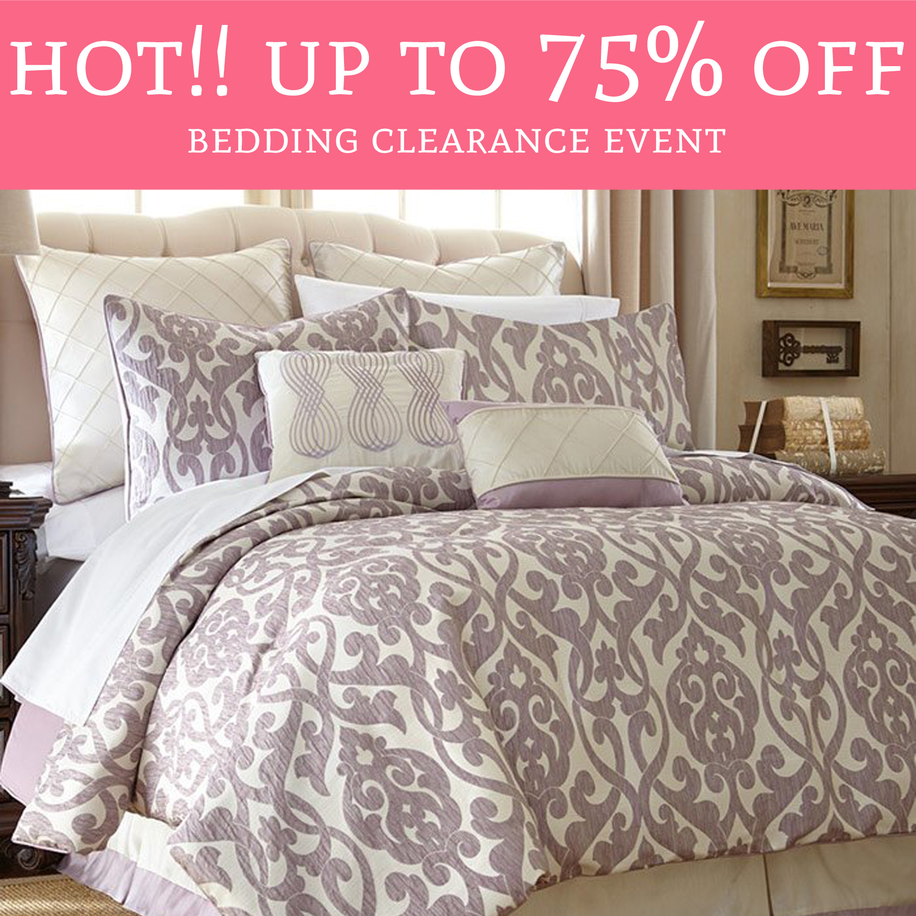 Wayfair Clearance: HOT! Up To 75% Off Bedding Clearance Event!