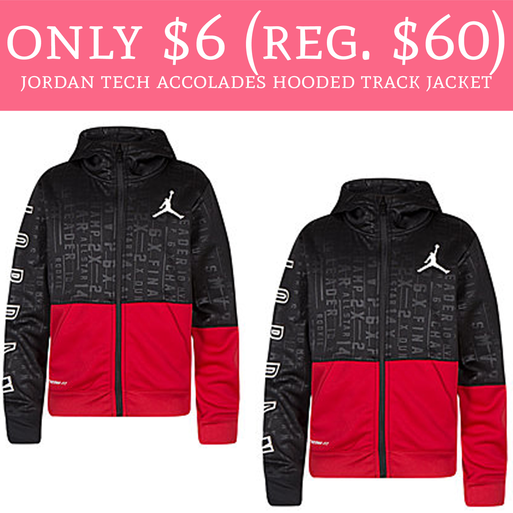 34218d83e39 This won't last long!! Hurry over to Nordstrom.com where you can score the Jordan  Tech Accolades Hooded Track Jacket ...