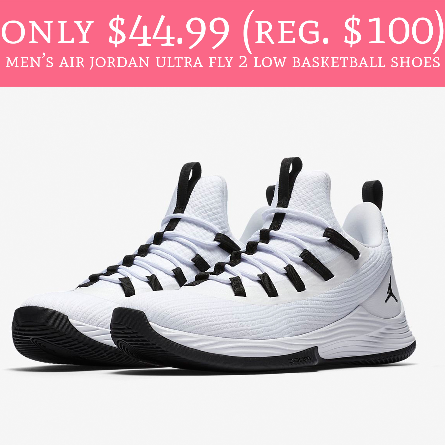 4f5a58ce868b  44.99 (Reg.  100) Men s Air Jordan Ultra Fly 2 Low Basketball Shoes ...