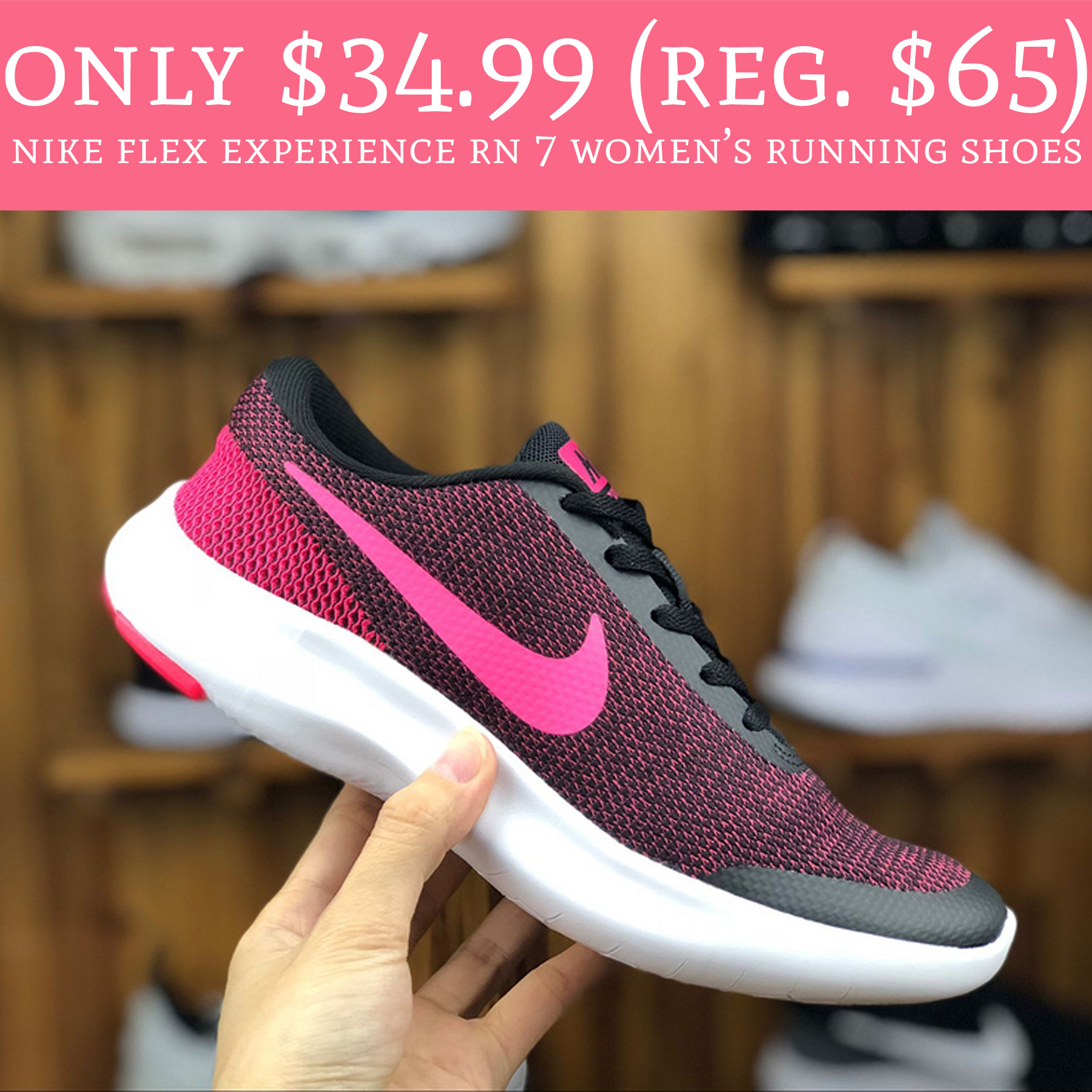 5f05365584d Great price on Nikes!! RUN to Kohl s.com where you can purchase Nike Flex  Experience RN 7 Women s Running Shoes ...