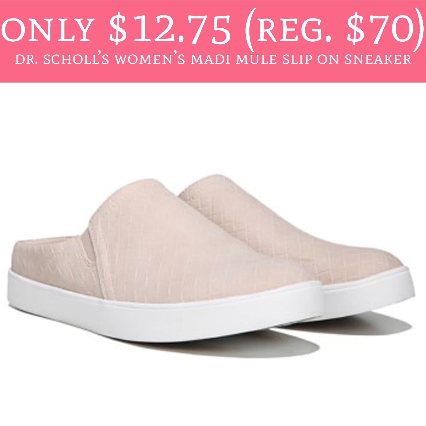 4f68edcbed06f Only $12.75 (Reg. $70) Dr. Scholl's Women's Madi Mule Slip On ...