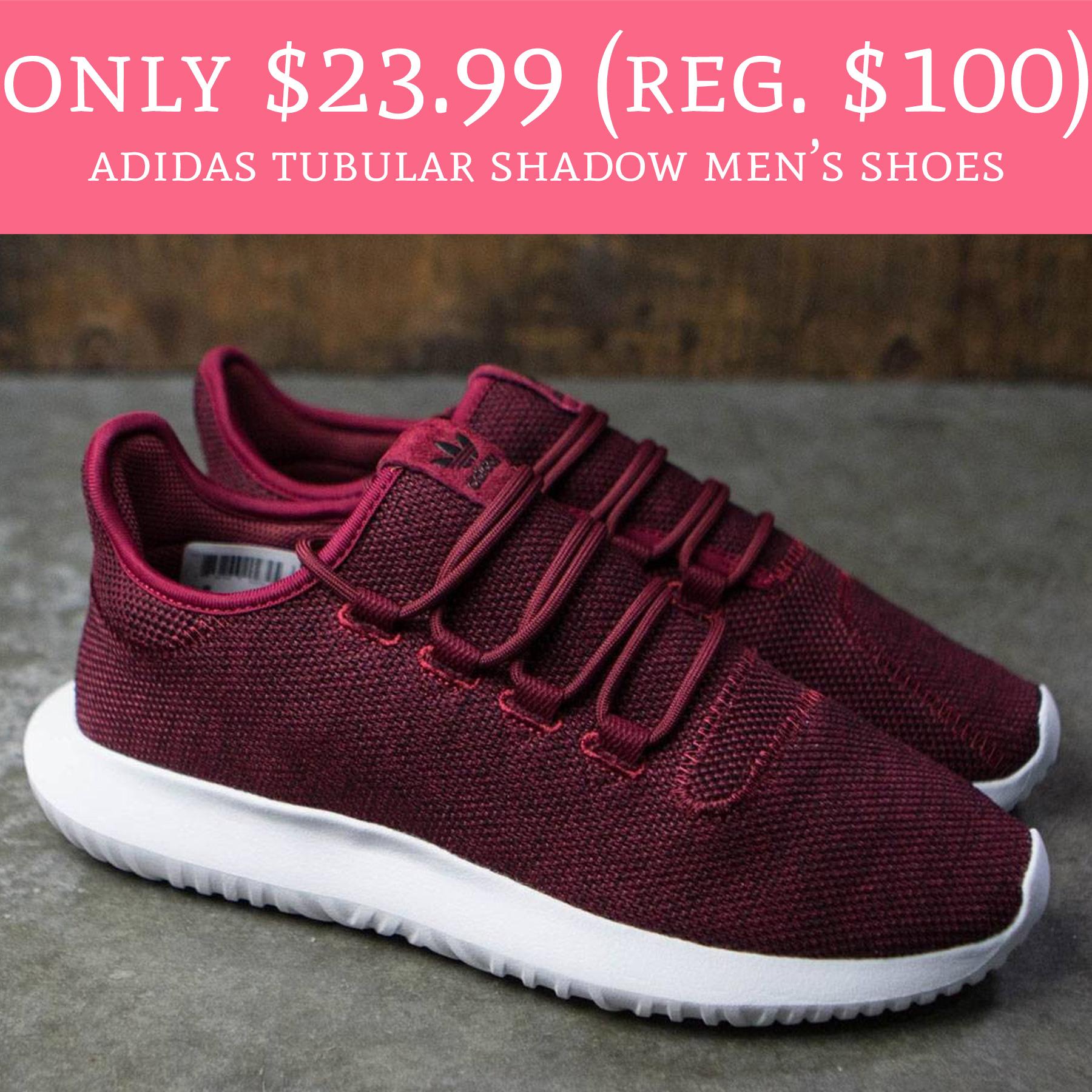 half off 79817 52459 Only $23.99 (Regular $100) Adidas Tubular Shadow Men's Shoes ...