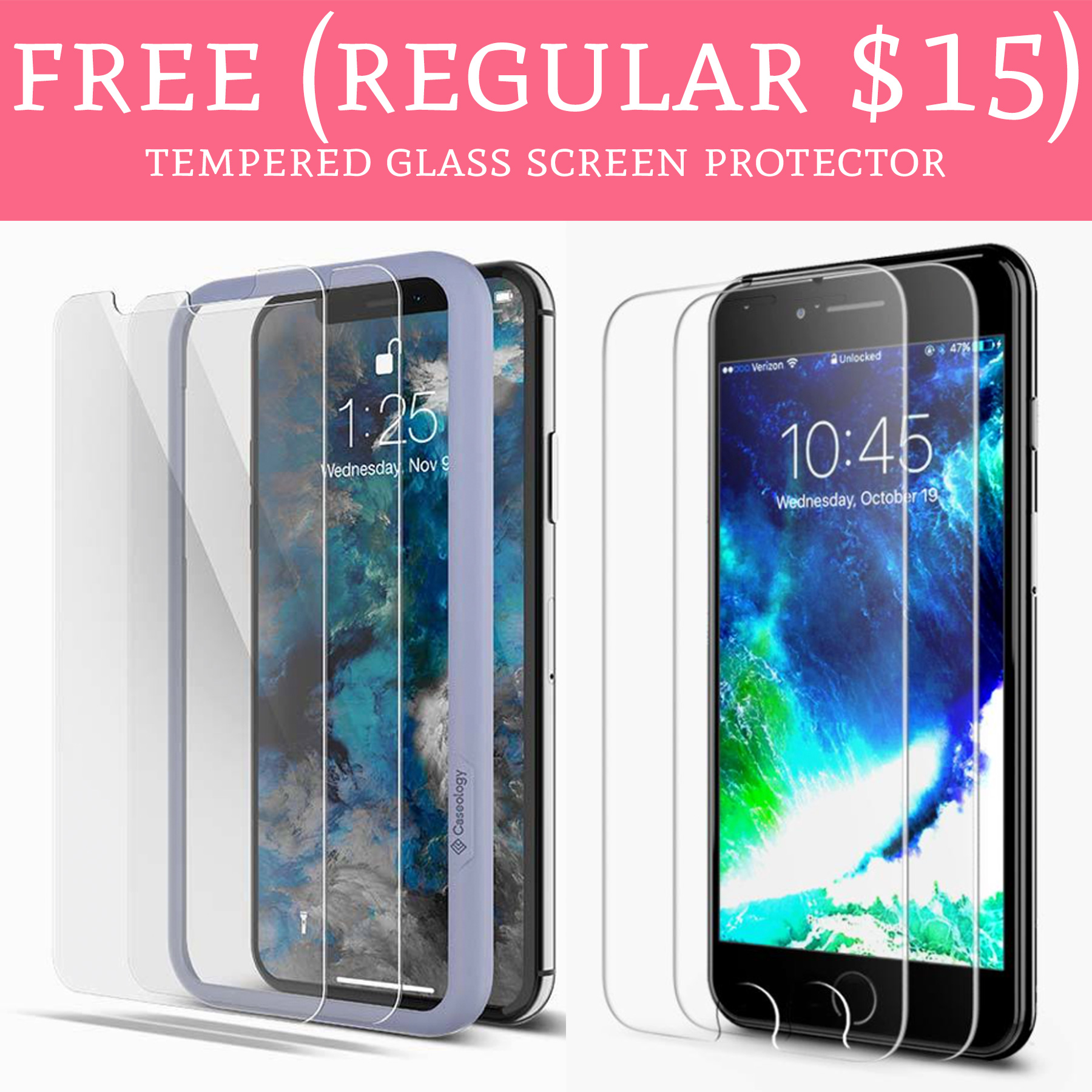 los angeles c5428 75315 FREE (Regular $15) Caseology Tempered Glass Screen Protector - Deal ...