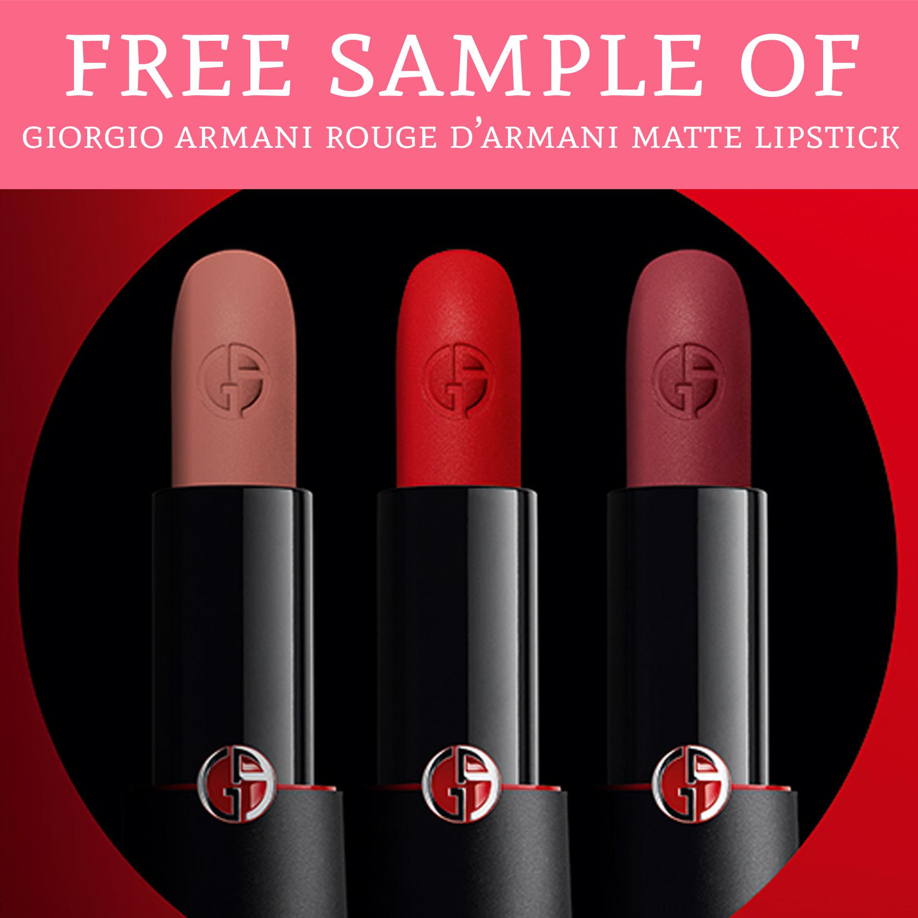 armani matte lipstick