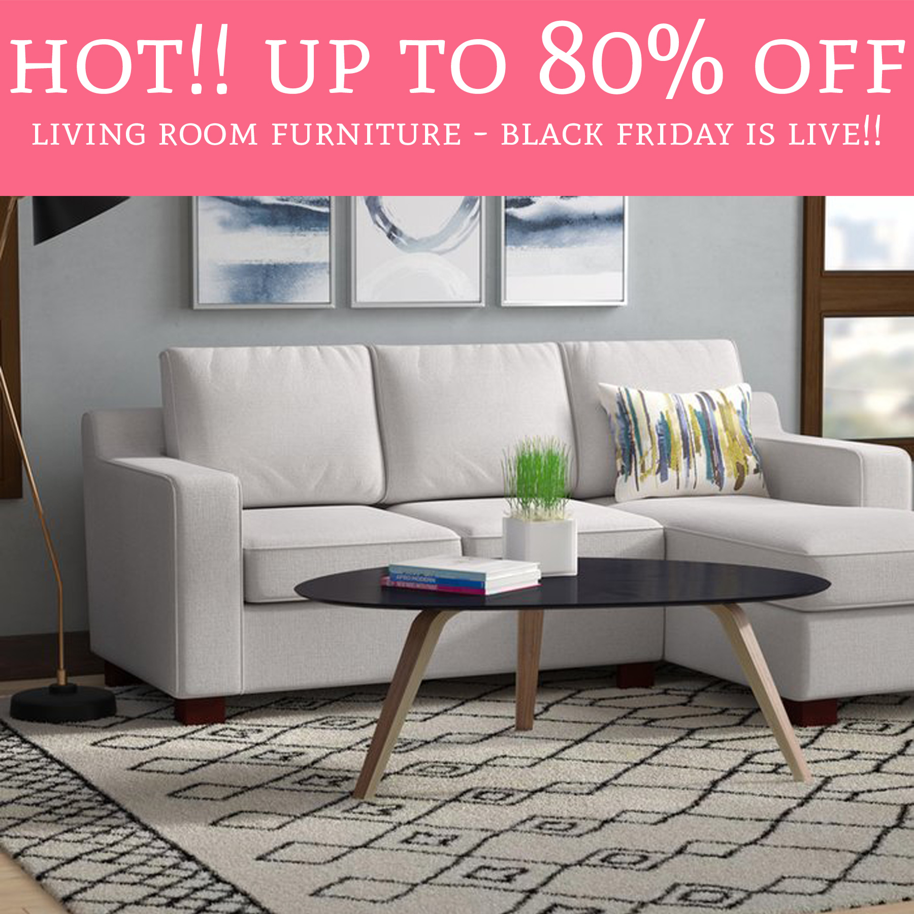 Black Friday Is Live Up To 80 Off Living Room Furniture