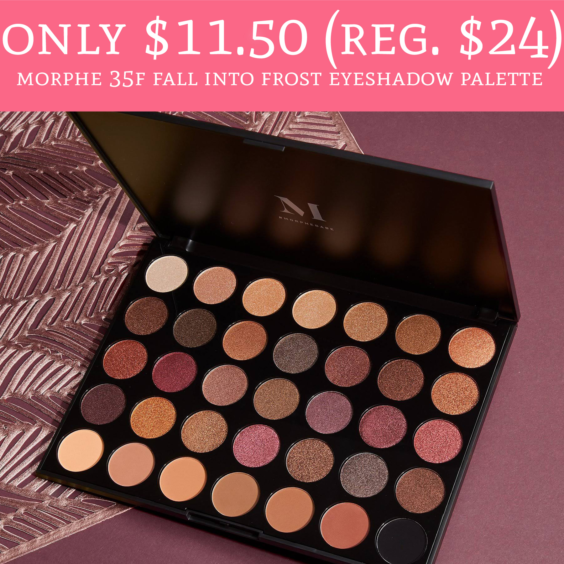 Only 11 50 Reg 24 Morphe 35f Fall Into Frost