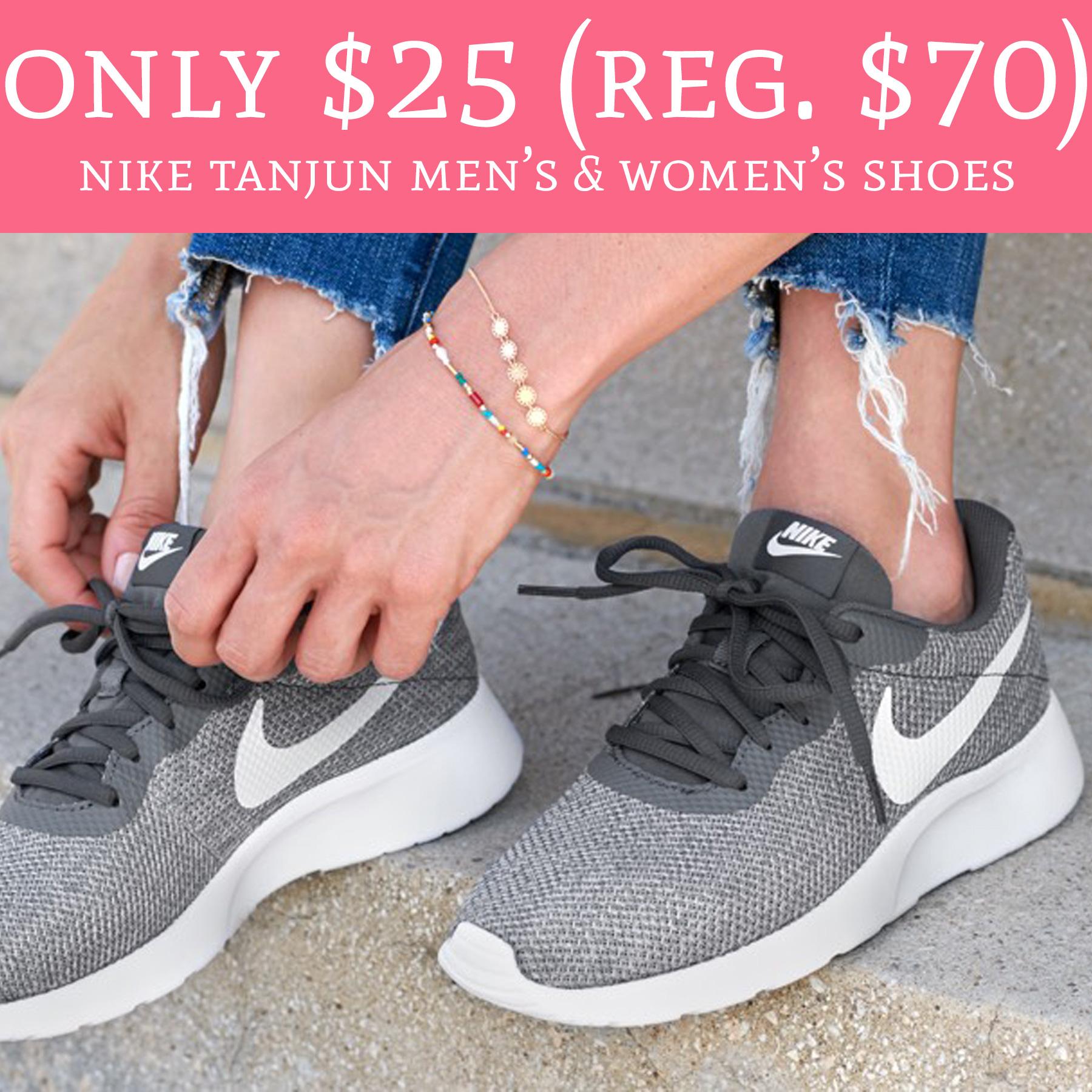 c10518a6736c05 Only  25 (Regular  70) Nike Tanjun Men s   Women s Shoes - Deal Hunting Babe