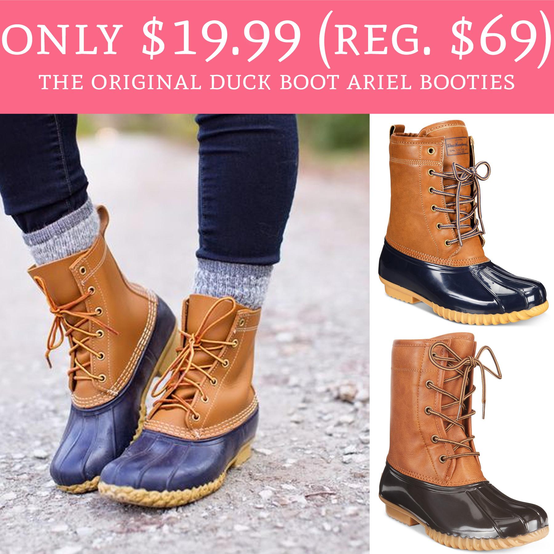 the original duck boot