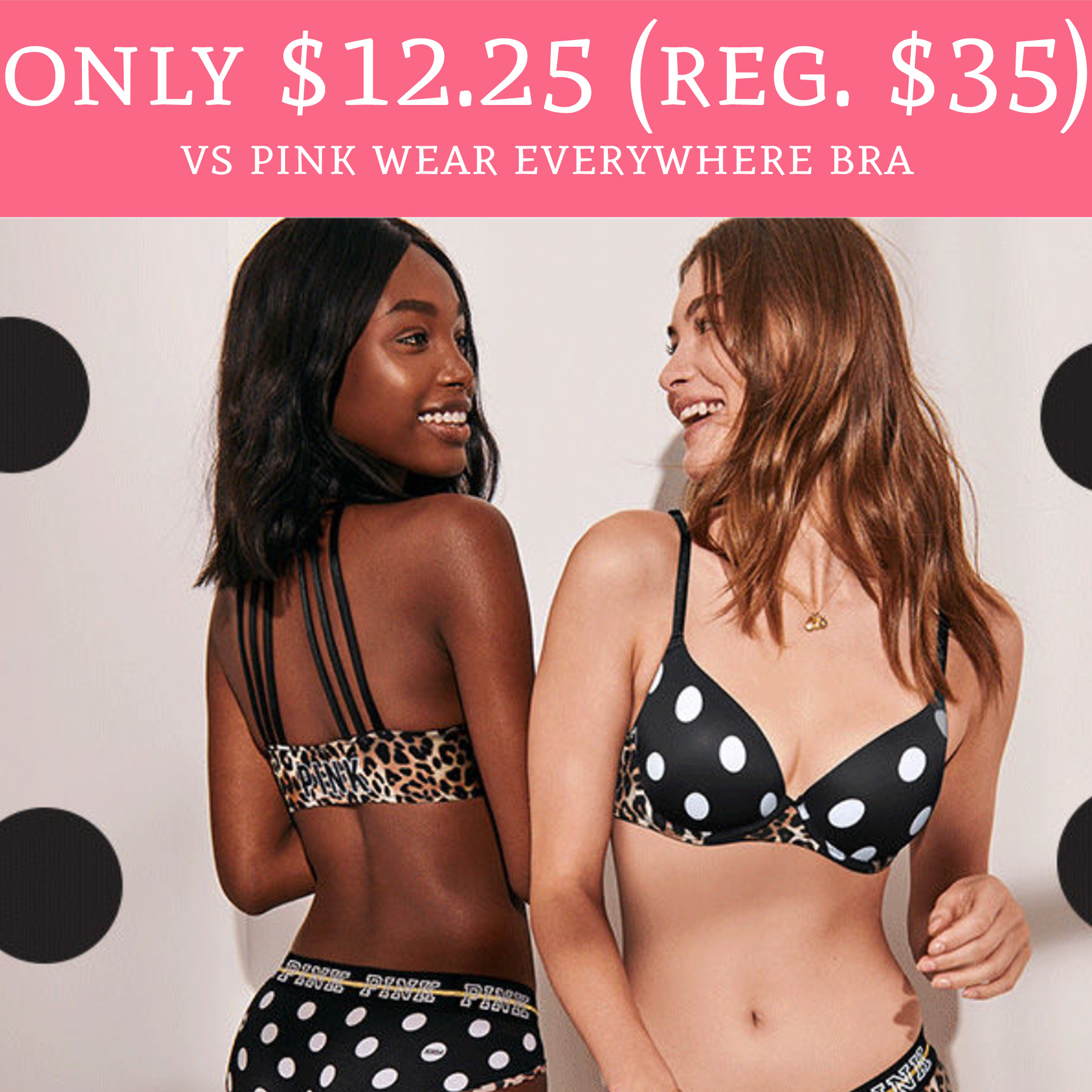 6a98e5b2c80 Stock up on Bras!! 😍. Hurry over to Victoria'sSecret.com to score Victoria's  Secret Wear Everywhere Bras for just ...