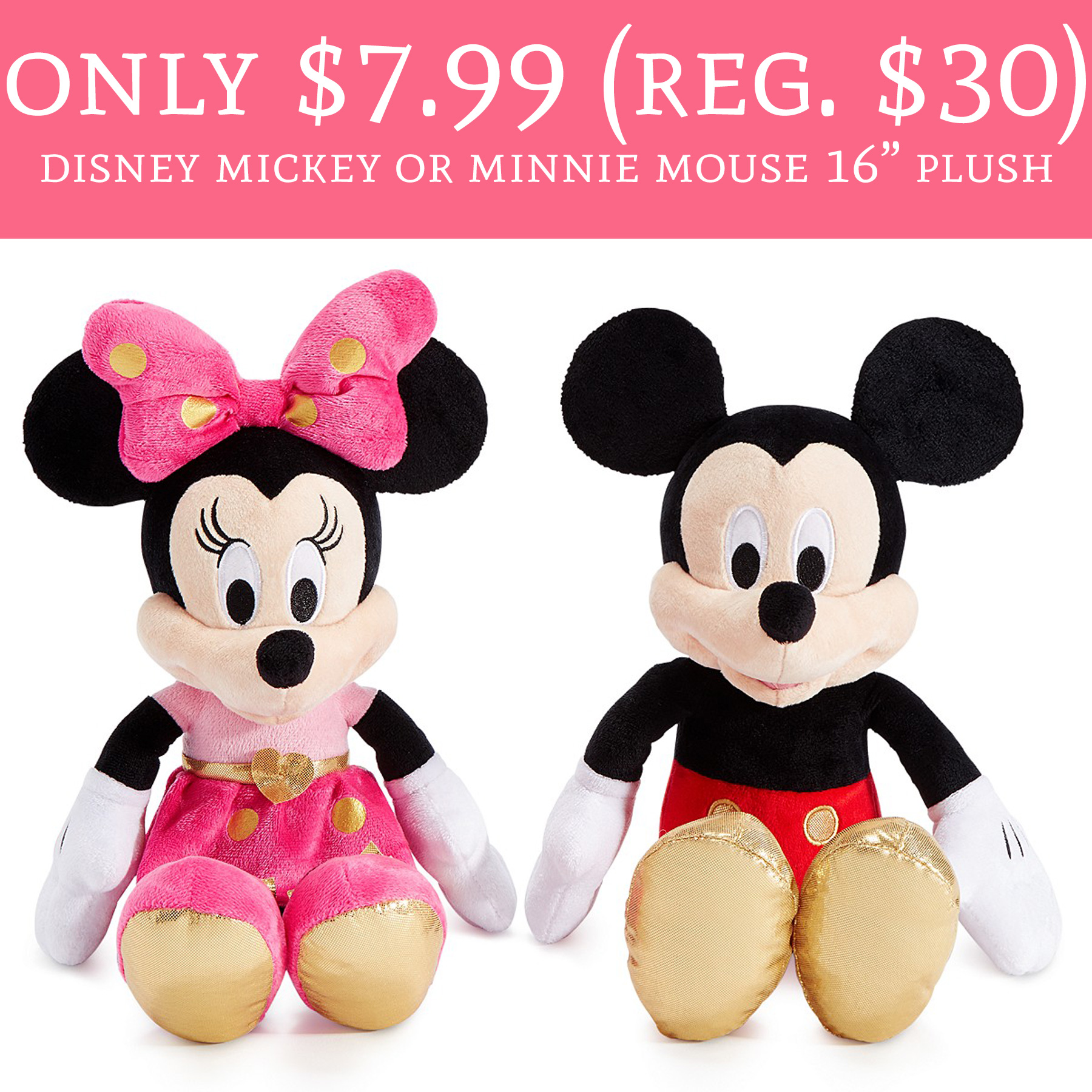 Only 7 99 Regular 30 Disney Mickey Or Minnie Mouse 16