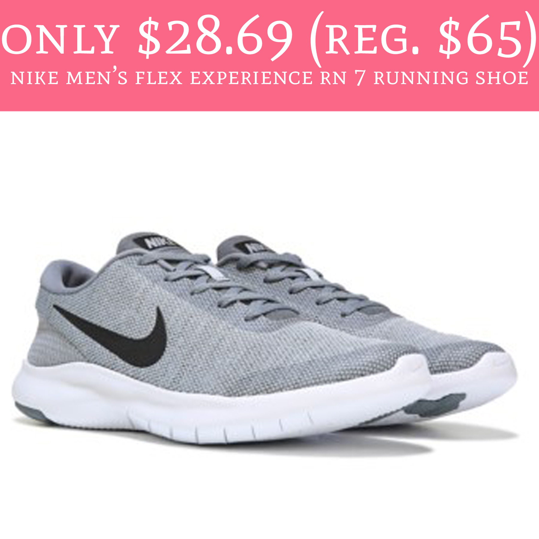 482f93630bb Stock up on Nike shoes! 😱. Hurry over to FamousFootwear.com where you can  order the Nike Men s Flex Experience RN 7 Running Shoe for just ...