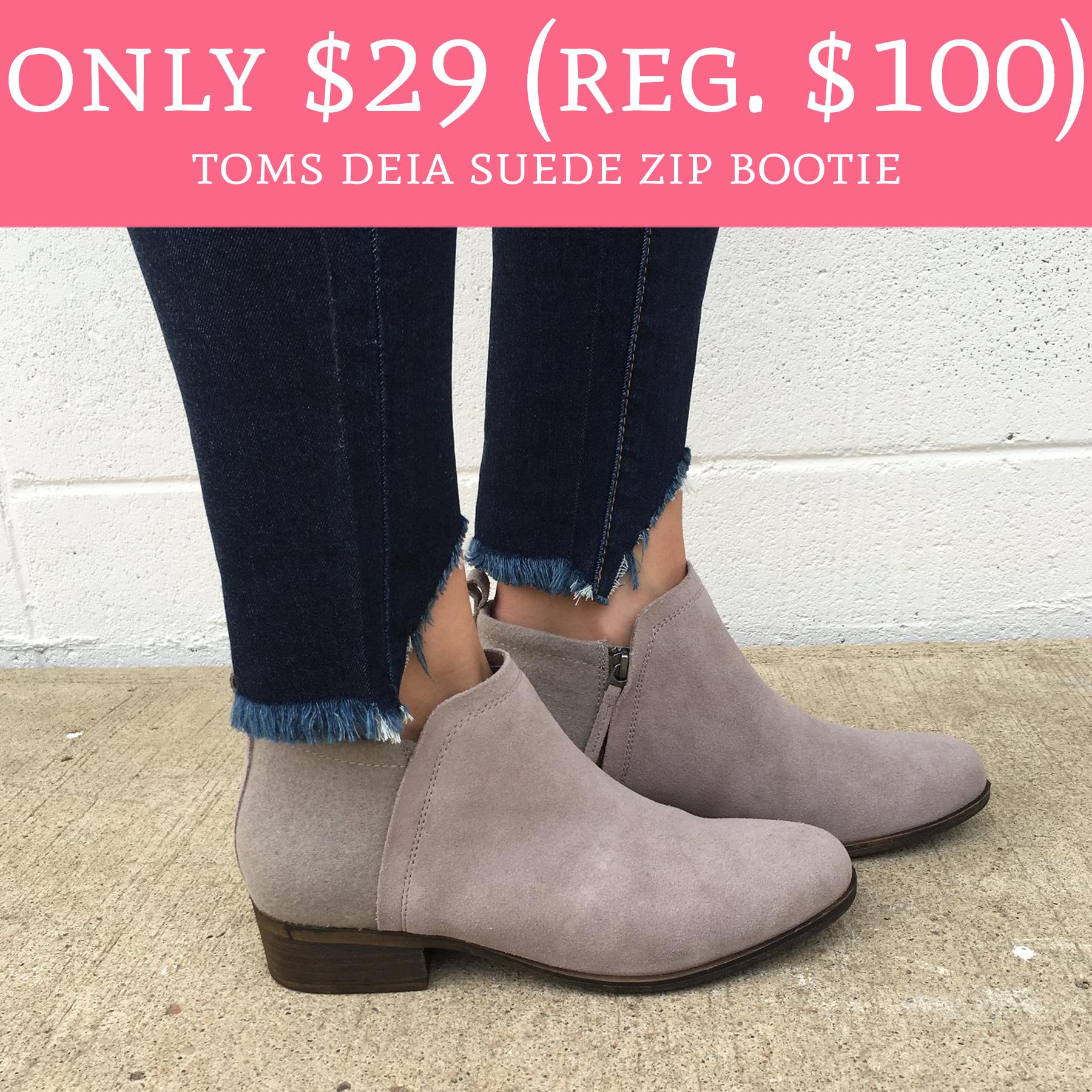 Only $29 (Regular $100) Toms Deia Suede