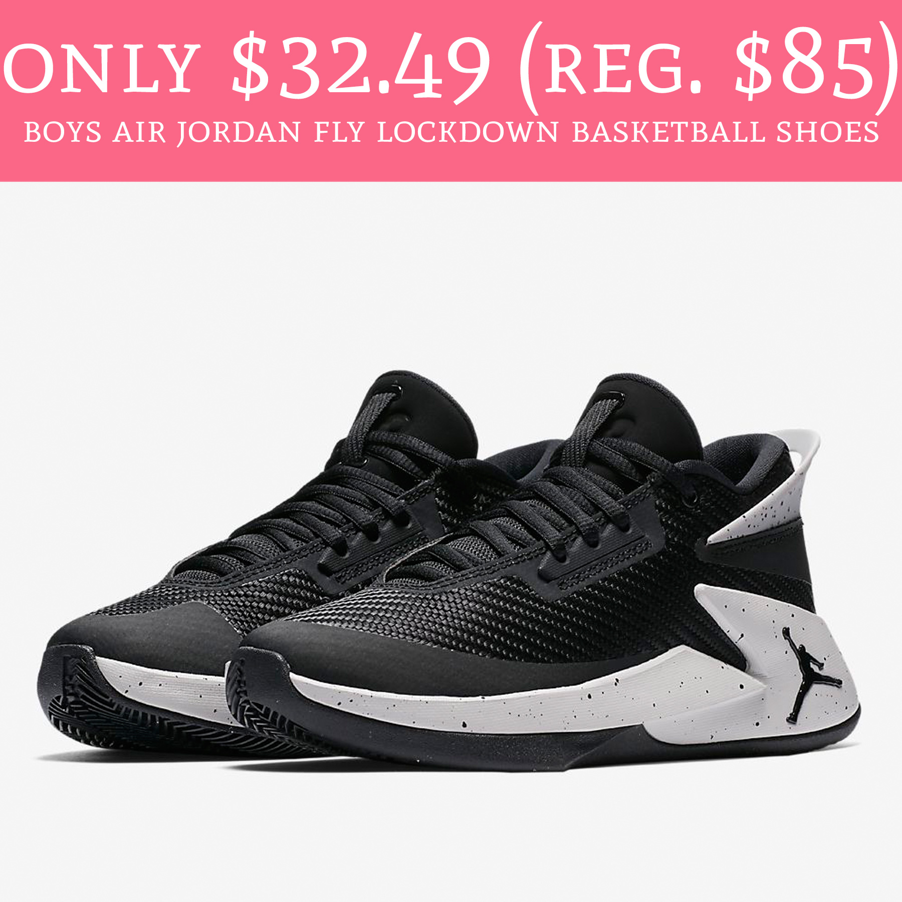 9b13cc24e80 These will sell out fast! Run over to FinishLine.com where you can order  Big Boys Air Jordan Fly Lockdown Basketball Shoes ...