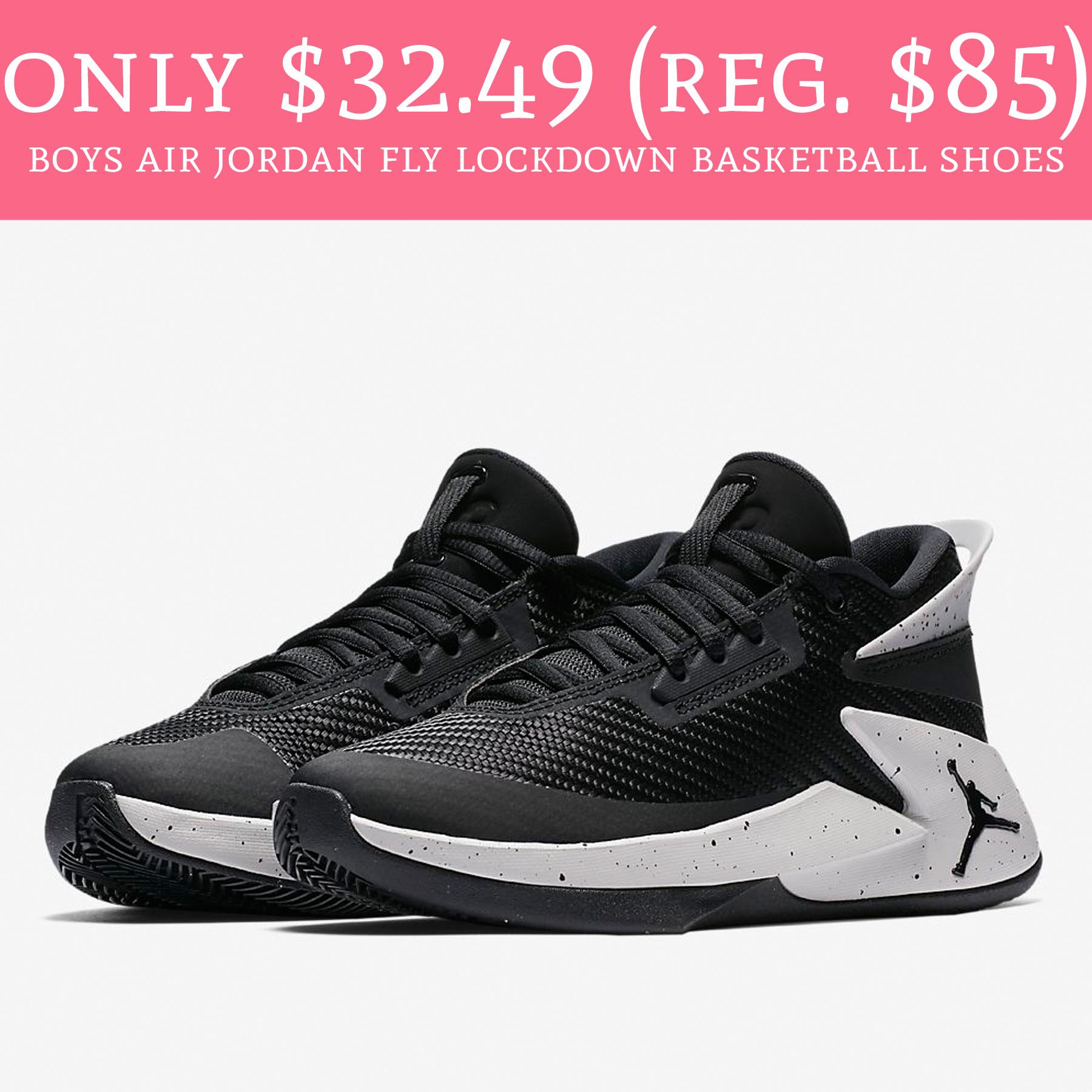Boys Air Jordan Fly Lockdown Basketball