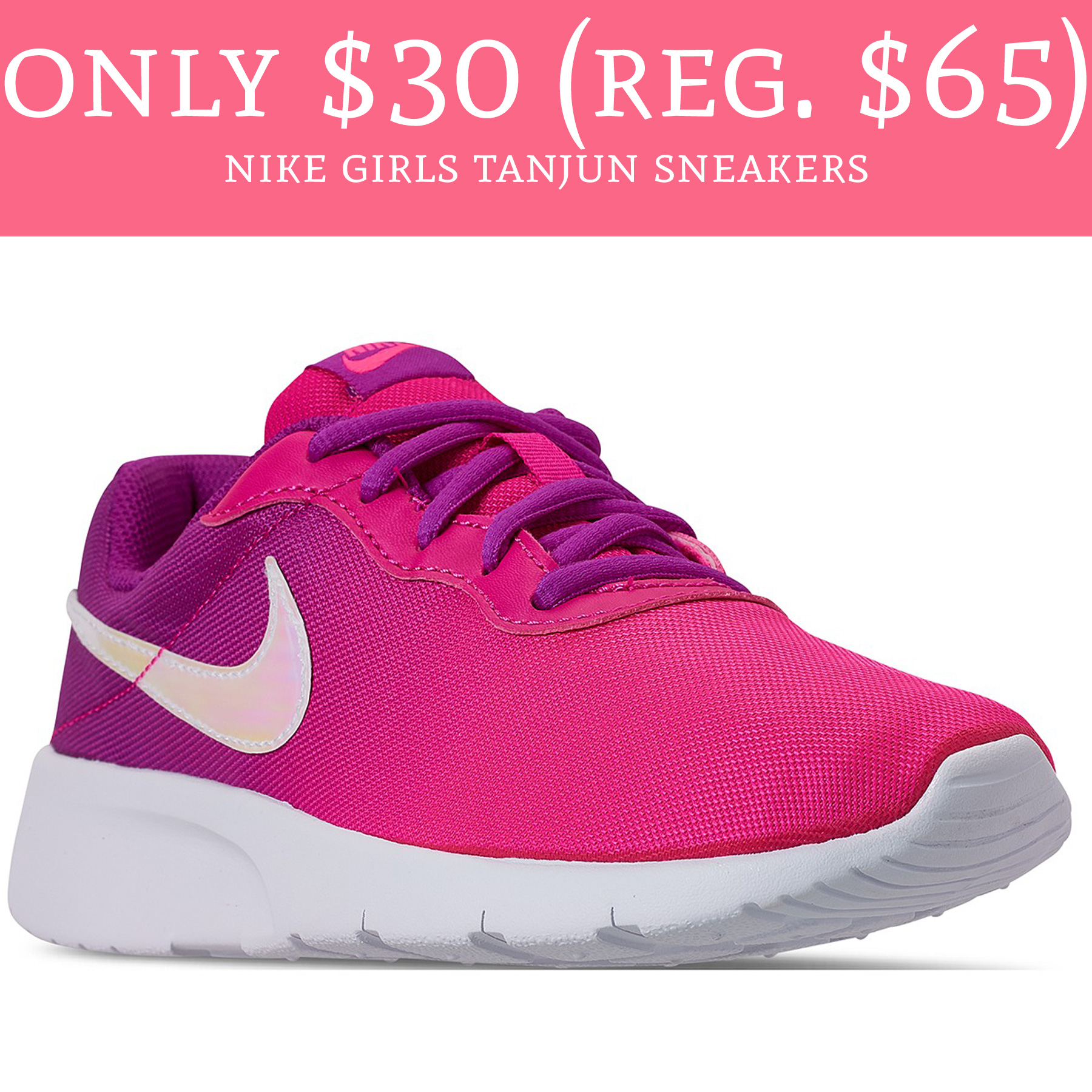 Only $30 (Regular $65) Nike Girls