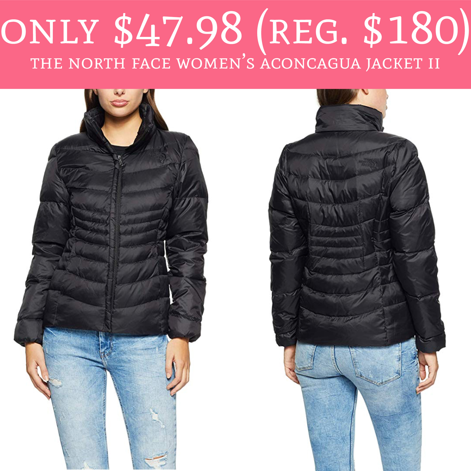 f64d825453878 This deal is HOT! 🔥. Hurry over to Amazon.com where you can score the The  North Face Women s Aconcagua Jacket II ...