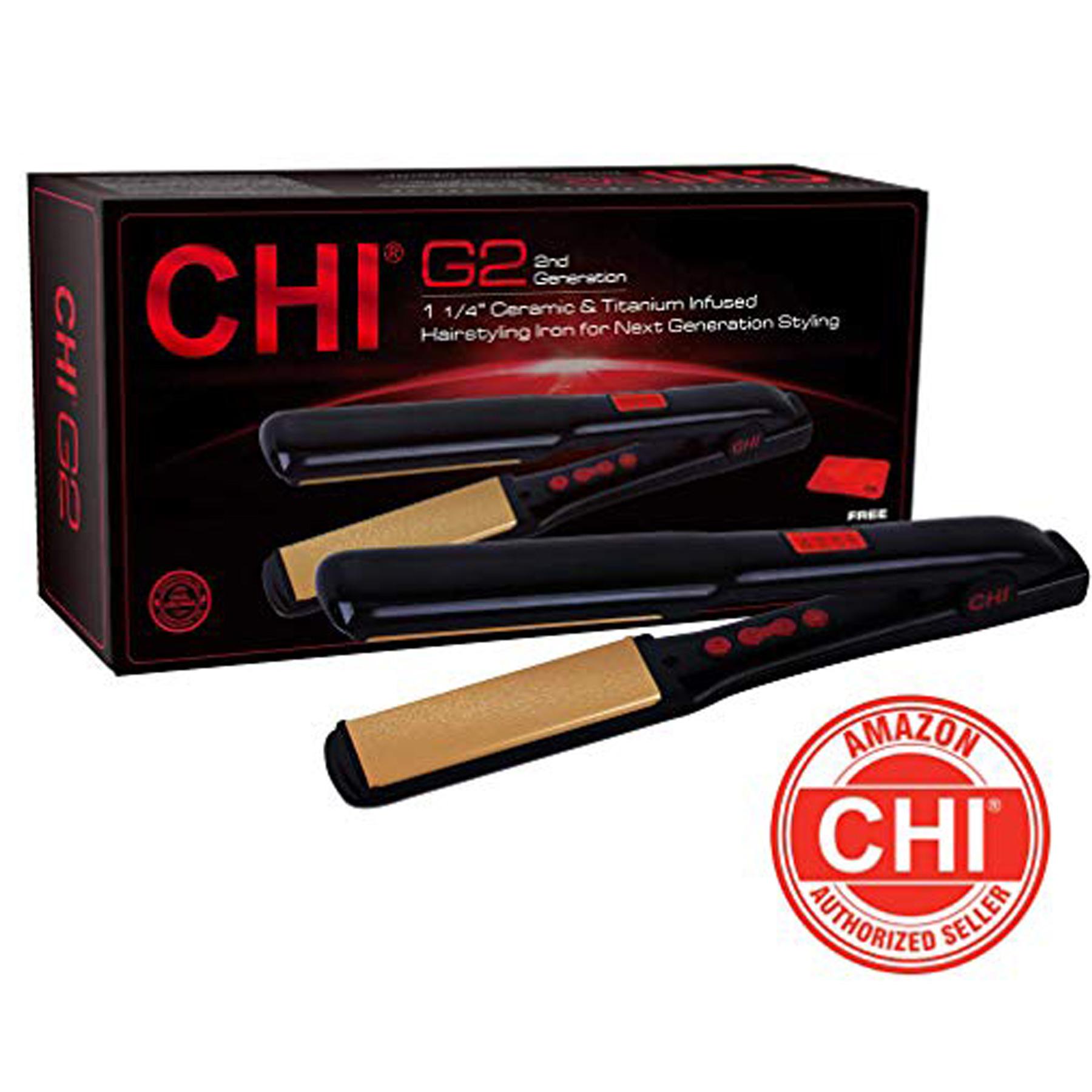 60 Off Chi G2 Ceramic And Titanium Straightening Iron
