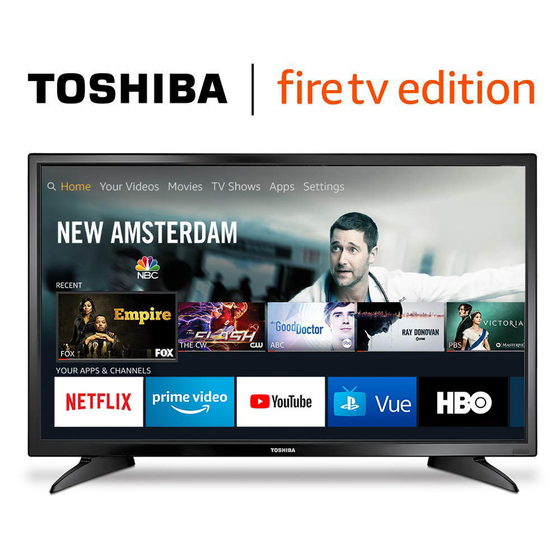 44% off Toshiba 32 inch LED Smart TV - Deal Hunting Babe