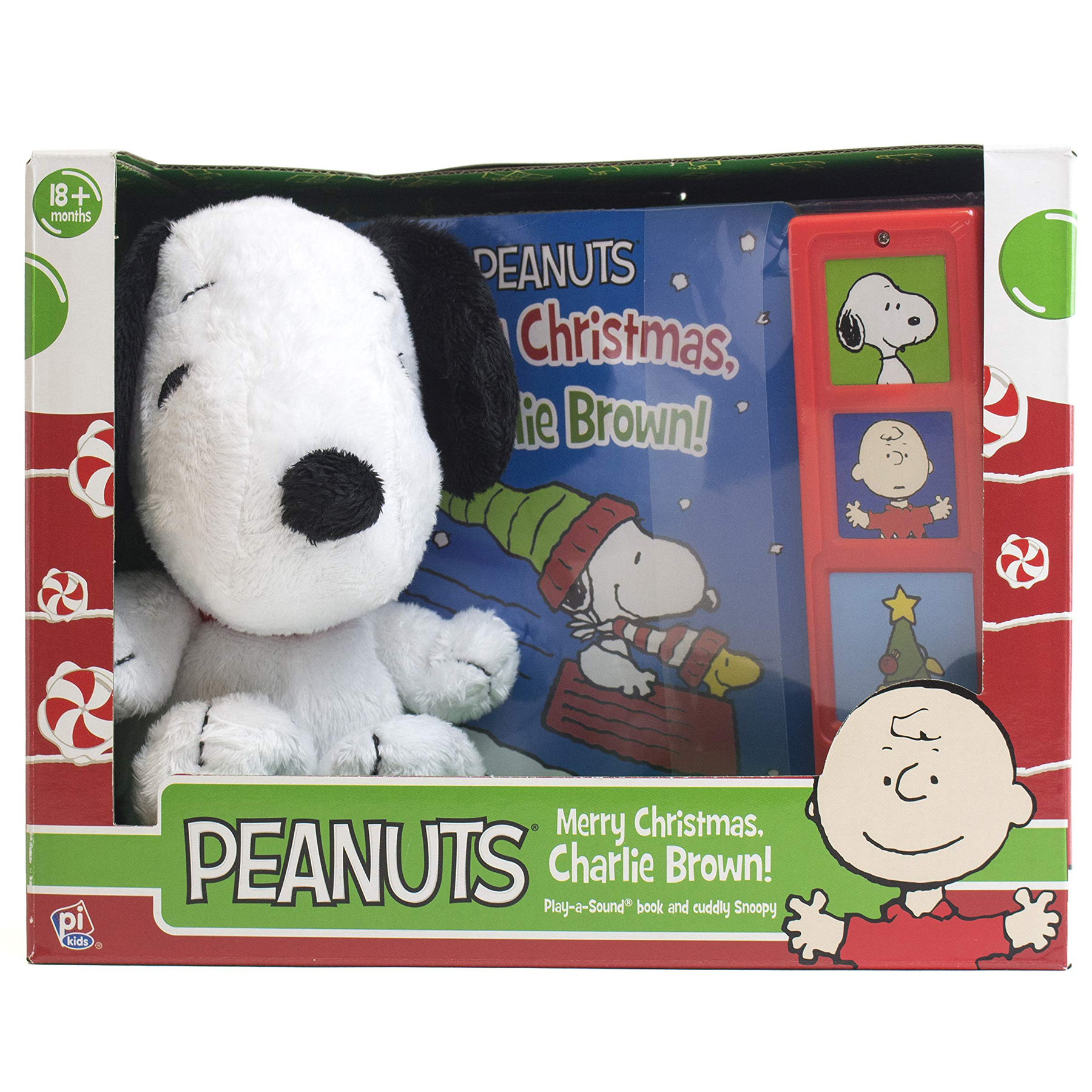 Snoopy Merry Christmas Images.79 Off Peanuts Merry Christmas Charlie Brown W Snoopy Plush