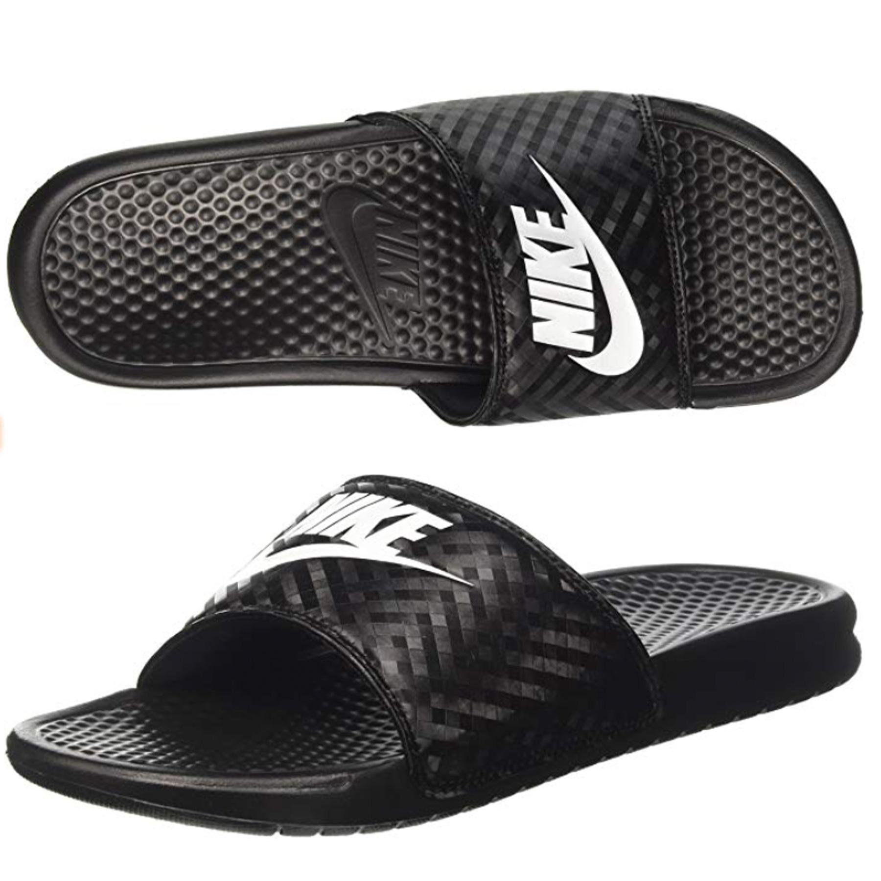 women's benassi just do it sandal