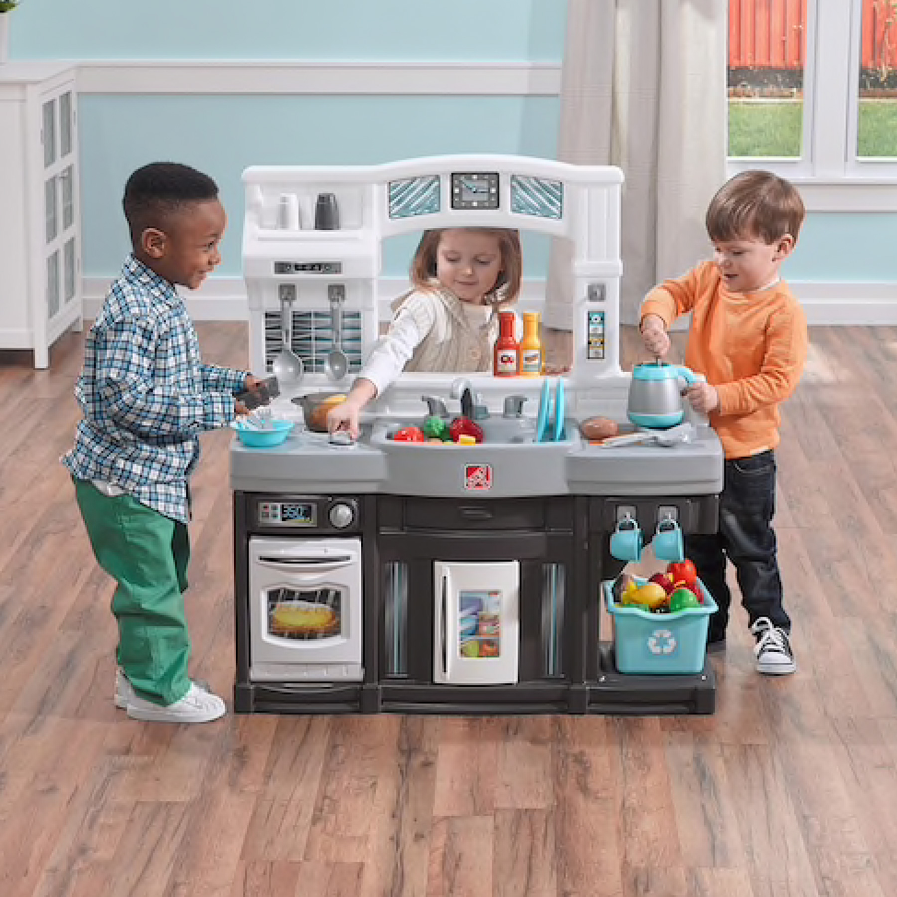 Only $34.99 (Regular $80) Step2 Modern Cook Play Kitchen Set ...
