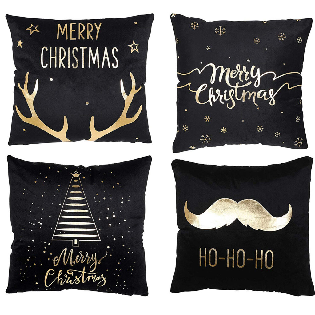 off Christmas Throw Pillow Covers 4 Pack Deal